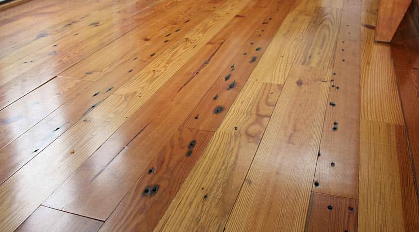 antique number 2 heart pine flooring lg